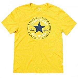 Converse triko Chuck Patch Tee Bitter Lemon front