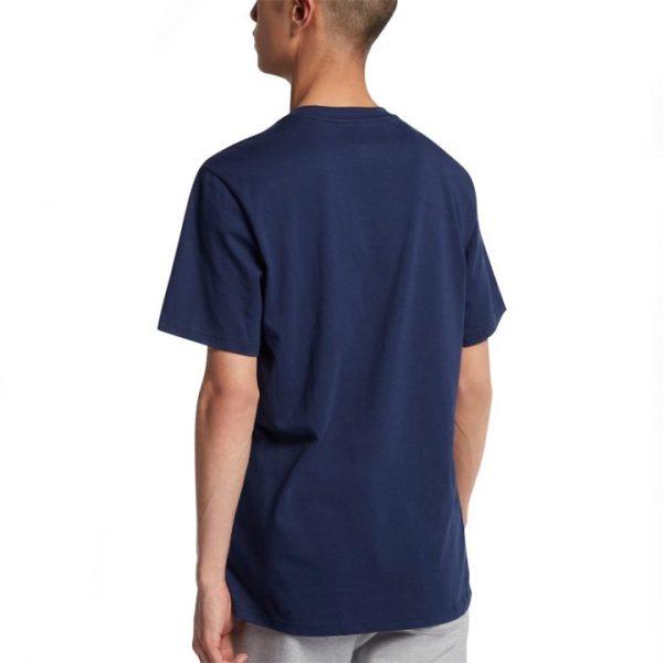 Converse pánské tričkoChuckpatch Contrast Slash Tee Navy back