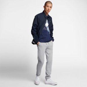 Converse pánské tričkoChuckpatch Contrast Slash Tee Navy promo