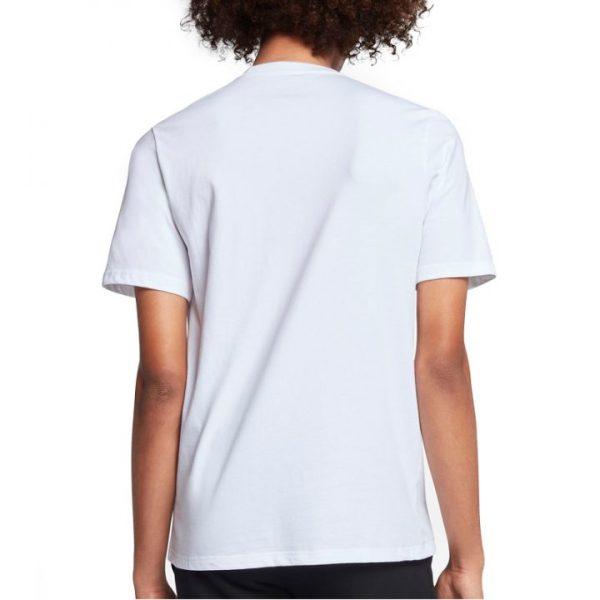 Conversepánské tričkoChuckpatch Contrast Slash Tee White back