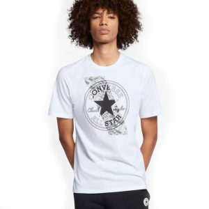 Chuckpatch Contrast Slash Tee White front