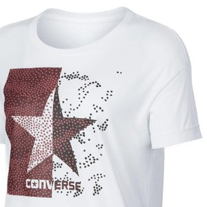 converse tricko dot camo star fill easy crew tee main