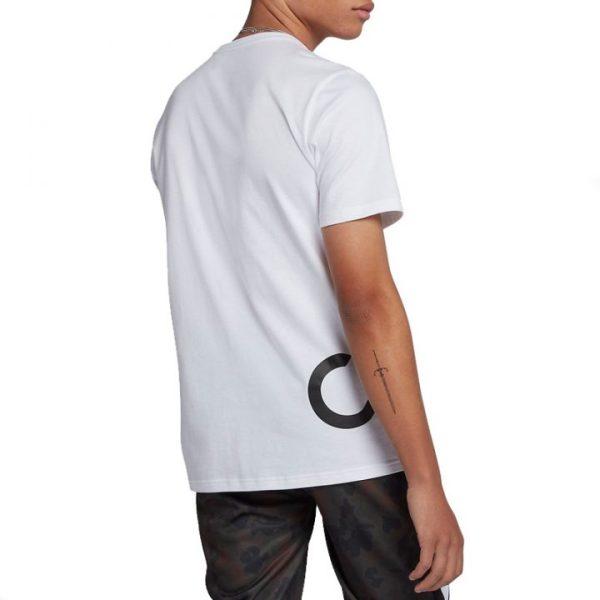 Converse triko Mens Cross Body Tee white back