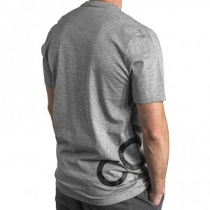 Converse panske triko Mens Cross Body Tee Vintage Gray angle2