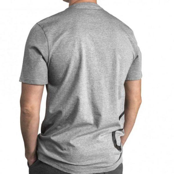Converse panske triko Mens Cross Body Tee Vintage Gray back