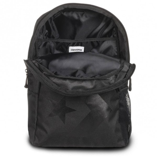 10005996-A01 Batoh Converse Speed Backpack Star Chevron Black open