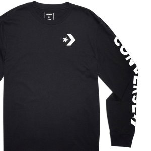 Converse tričko Star Chevron Wordmark Mens Long Sleeve T-Shirt main