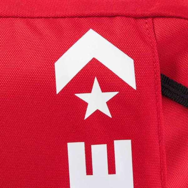 Converse batoh Speed Backpack Enamel Red detail