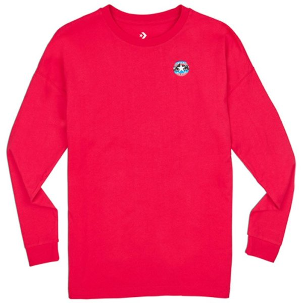 Converse tričko Mountain Club Long Sleeve T-Shirt front