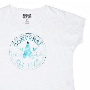 Converse tričko tílko FEM SCOOP white main