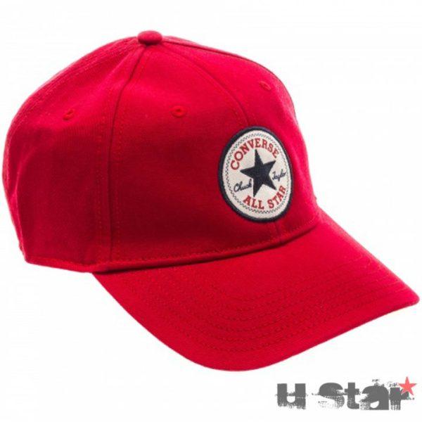 526577 Kšiltovka Converse core Core Baseball Red
