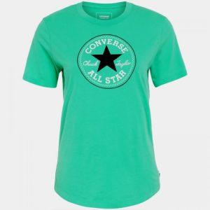 Dámské tričko Converse Chuck Patch Crew Menta