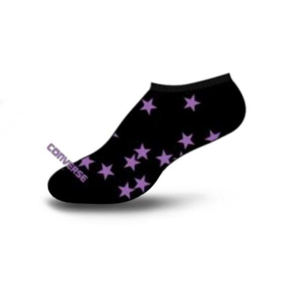 Converse dámské ponožky Tosses Stars no show black