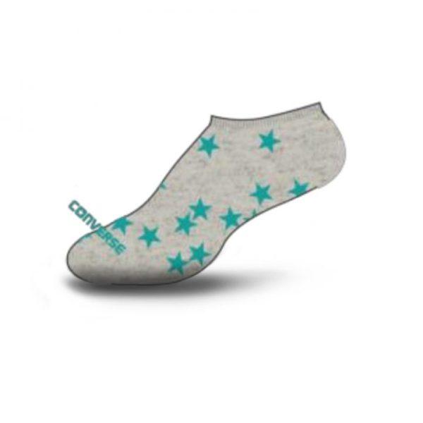 Converse dámské ponožky Tosses Stars no show grey