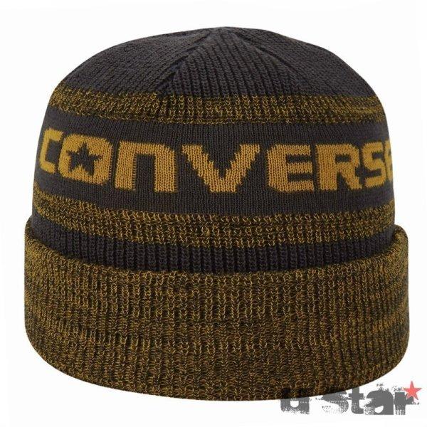 Converse cepice Jacquard Knit Watchcap Shale gray square