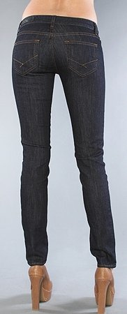 VVZSAFM Vans dámské jeans Skinny Indigo Rinse